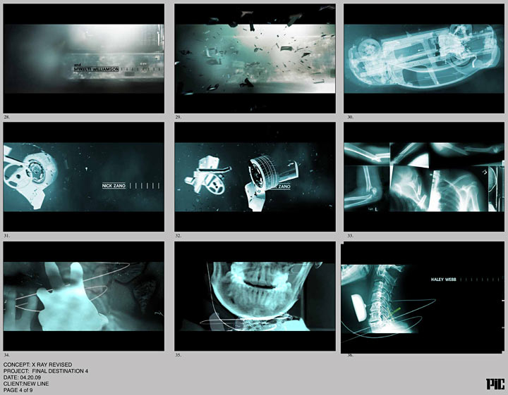 The Final Destination - PIC Storyboard