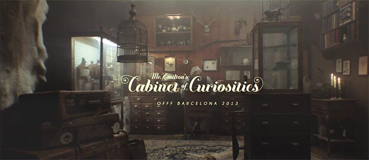 OFFF Barcelona 2013 - Mr. Emilton's Cabinet of Curiosities, still