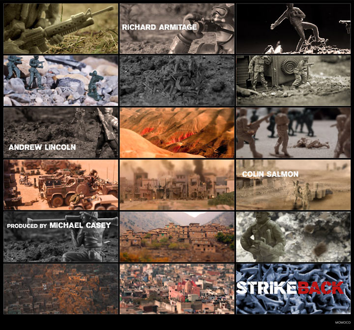 Strikeback, Storyboard by Momoco, 2012