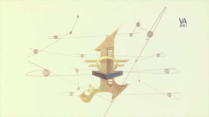 Visual Arabia 2013 - title sequence process