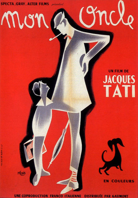 Mon oncle title sequence watch the titles - Jacques tati mon oncle ...